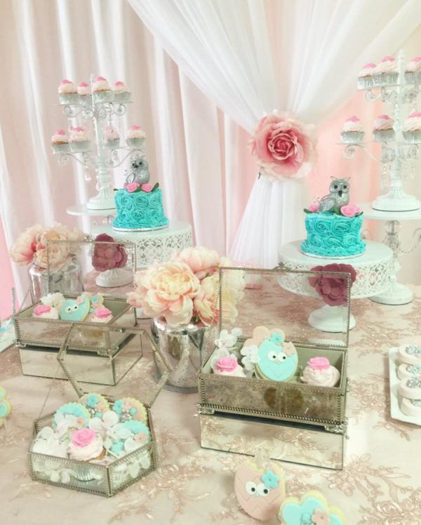 Owl Baby Shower Decoration Ideas Baby Shower Owl Party Pinterest