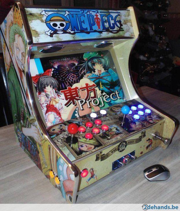 borne arcade pieces