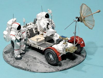 Scale Model News: SPACE MODEL REFERENCE: LUNAR ROVER OWNERS