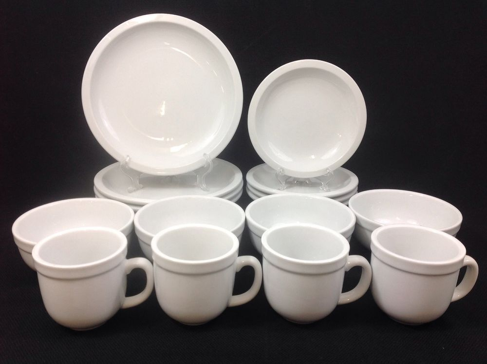 Pottery Barn Suppertime 16-Piece Dinnerware SET for FOUR # ...