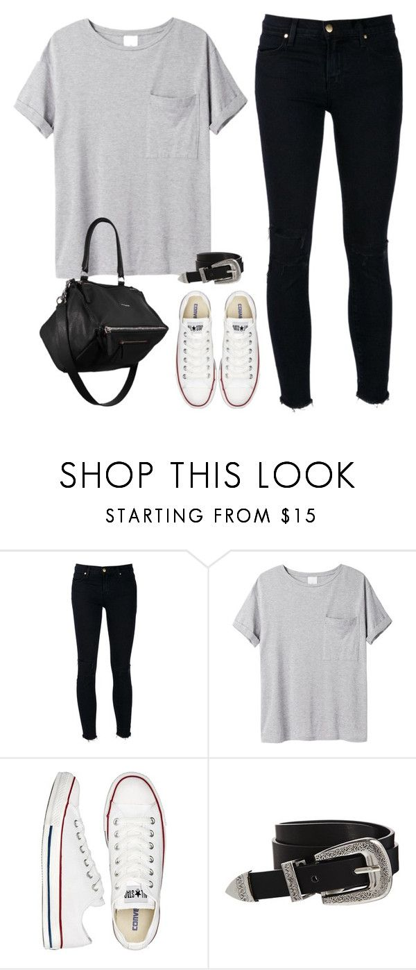"""Untitled #123"" by simonakolevaa ❤ liked on Polyvore featuring J Brand, AR SRPLS, Converse, ASOS and Givenchy"