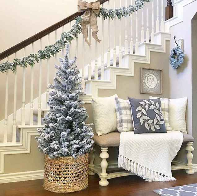 80 Modern Farmhouse Staircase Decor Ideas: 80 Modern Farmhouse Staircase Decor Ideas (77 (com Imagens