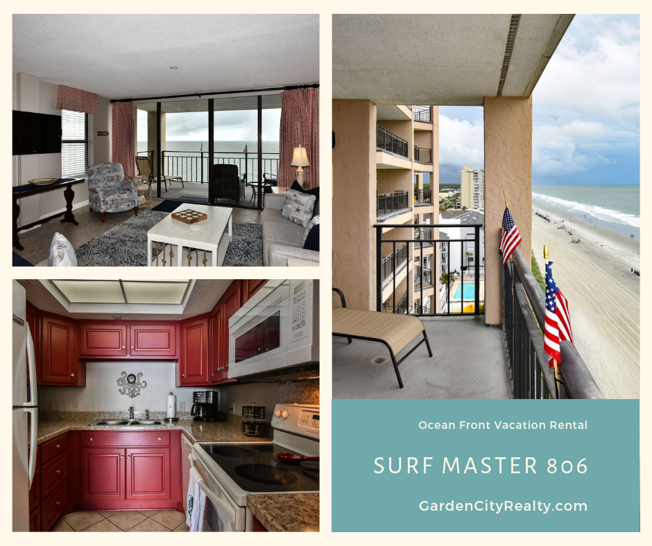 Surf Master By The Sea 806 Is A One Bedroom One And A Half Bath