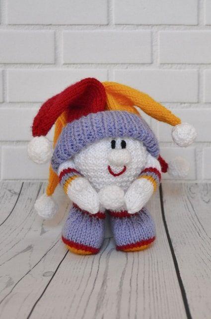 Snow Joker Knitting Pattern | Knitting patterns, Knitting