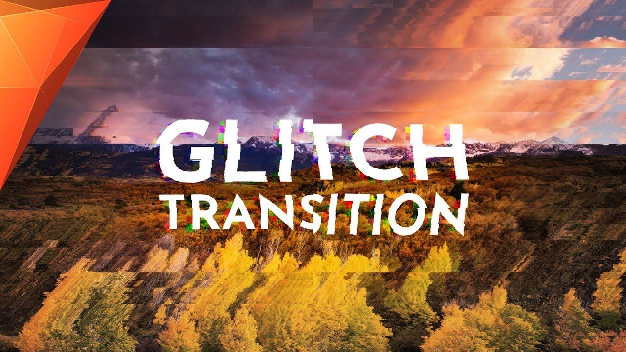 Clean GLITCH Transition - Hitfilm Express Tutorial | Be