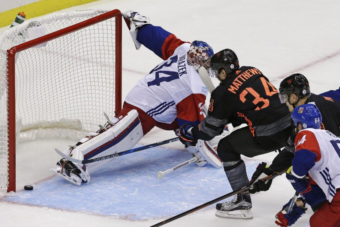 Team North America Drops Final World Cup Of Hockey Exhibition Hockey World Cup Hockey World Cup