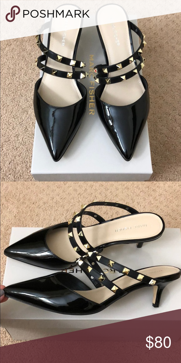 d80705b7997 New Marc Fisher shoes Very cute shoes with gold rockstud style ...