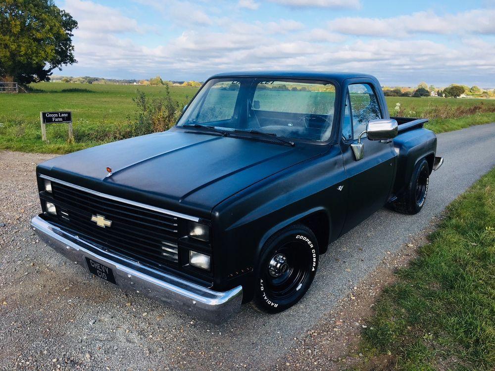 1984 Chevrolet C10 Stepside 350 V8 Hotrod Ratrod Pickup Truck Pickup Trucks Chevrolet Rat Rod