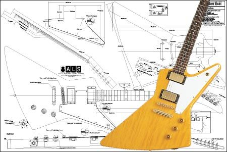 Gibson Explorer Electric Guitar Plan Any 2 Get 1 Free