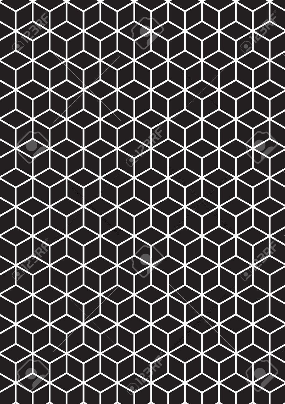 illustration of 3d cubes royalty free cliparts vectors
