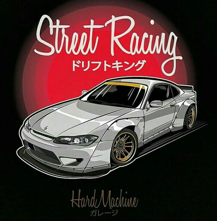 Pin by Pani Szyjka on Jdm cartoon | Art cars, Japanese ...