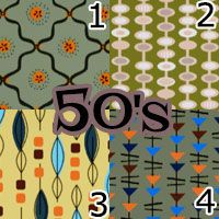 Mod The Sims - Blast from the Past - 12 Retro Patterns