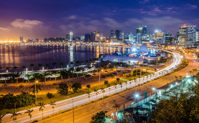 Luanda Luanda Angola South Africa Skyline Capital City Angola