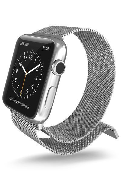 Mesh Band For 42 Mm Apple Watch Apple Watch Replacement Bands Apple Watch Silver Apple Watch