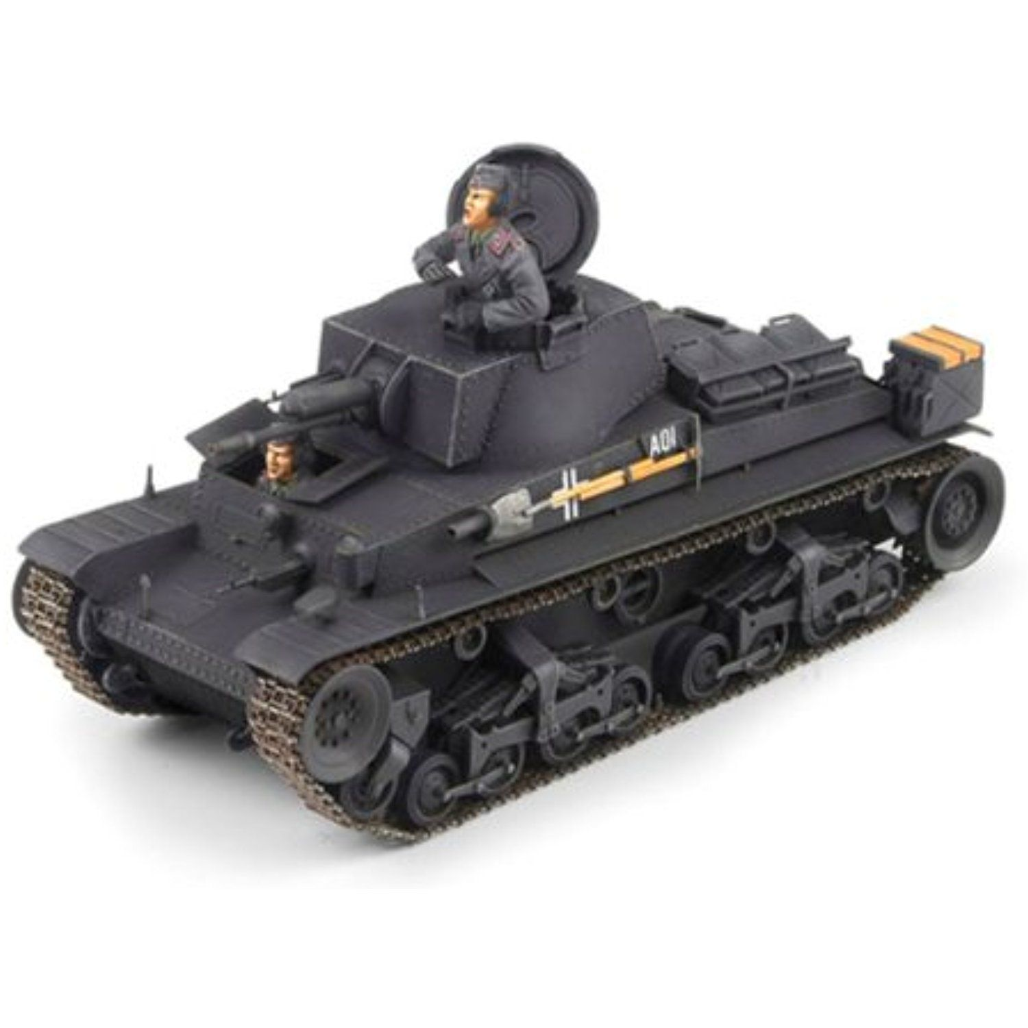Academy German Light Tank Pz.Kpfw. 35(t) Military Land Vehicle Model ...