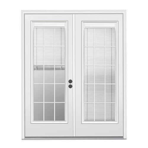 French patio door with blinds between the glass Door to be deliveredFrench patio door with blinds between the glass Door to be  . Full View Exterior Door With Blinds. Home Design Ideas