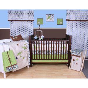 Bacati Camo Air 10 Piece Nursery In A Bag Crib Bedding Set Baby Bedding Sets Baby Boy Bedding Crib Bedding