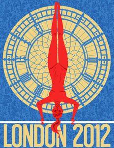 London 2012 Gymnastics Poster