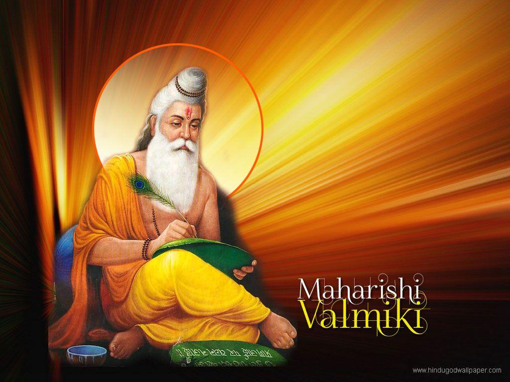 Sanskrit essays in sanskrit language on valmiki biography