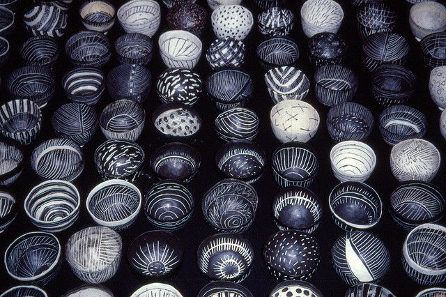Pinched porcelain bowls   Flickr - Photo Sharing!