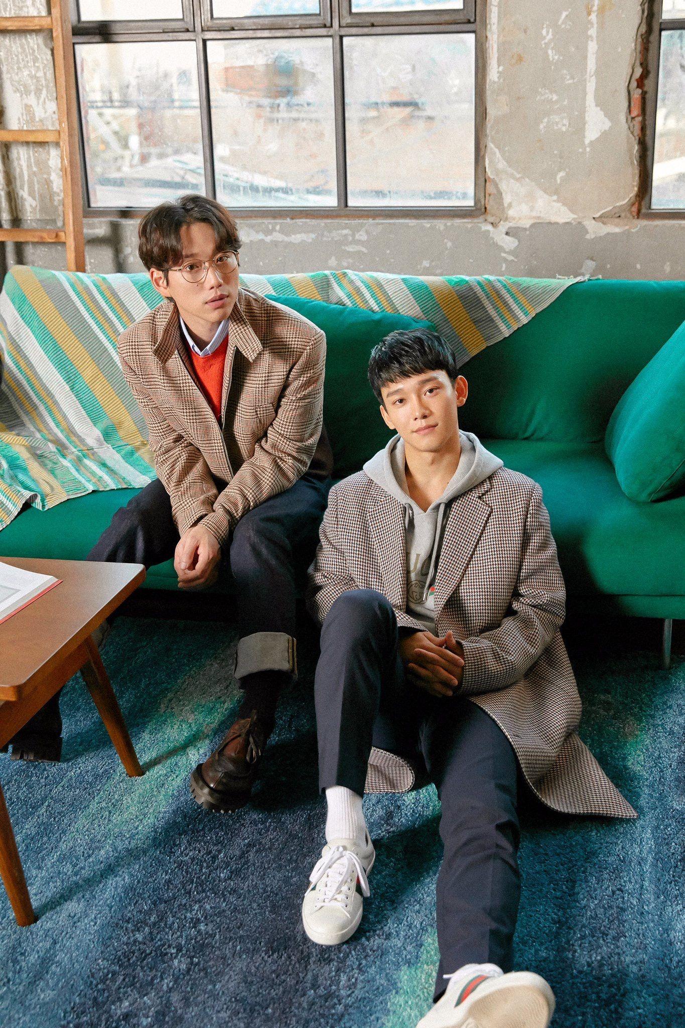 Kwon Jeongyeol 10cm Kim Jongdae Chen Bye Baby Station Exo Sehun Cantores Exo