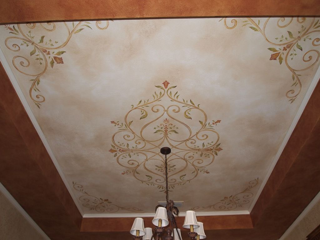 Ceiling Stencil Designs Ceiling Texture Types Ceiling Texture