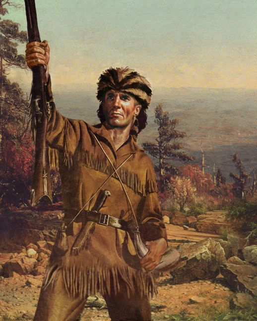 Pin By David Bingham On Nick Mountain Man Davy Crockett