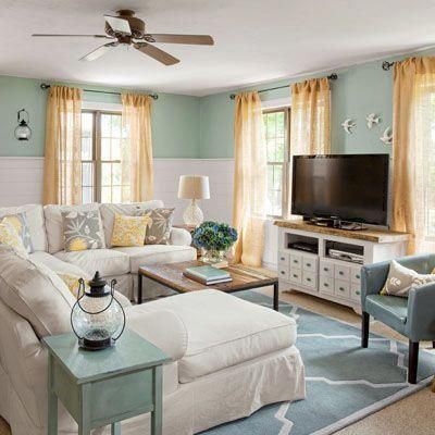 Family room inspiration #coastalcottageideas Florida home in 2018