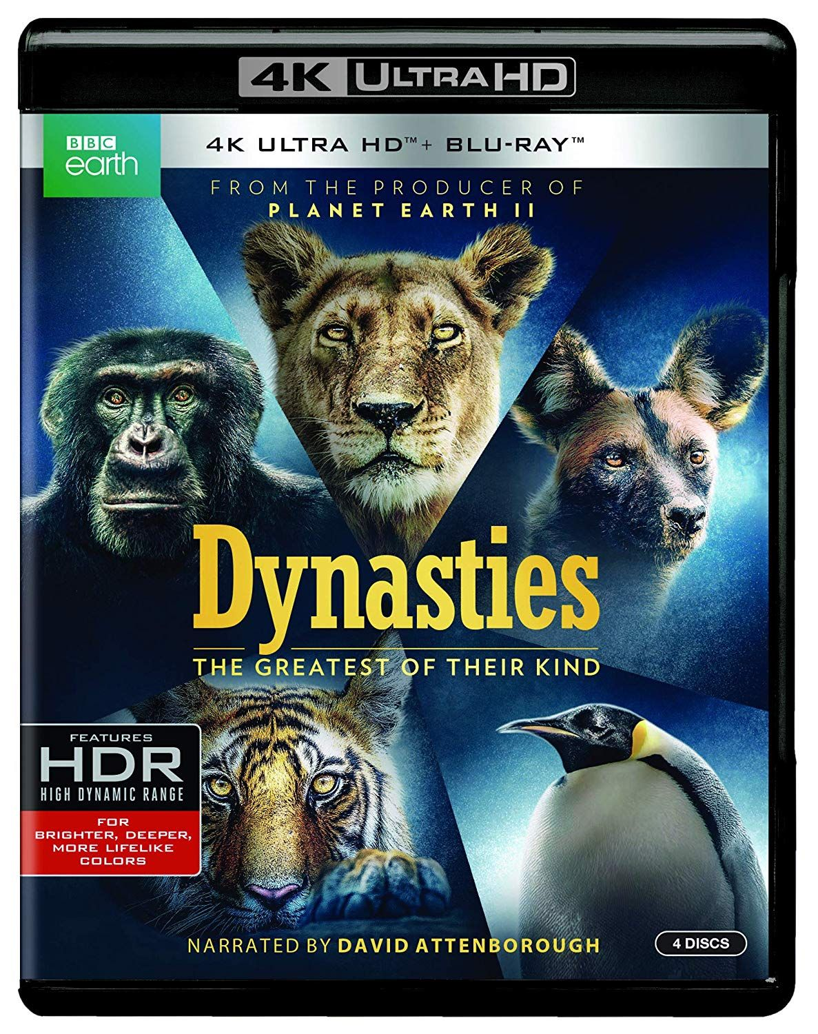 Dynasties Blu Blu Ray Movie Genres