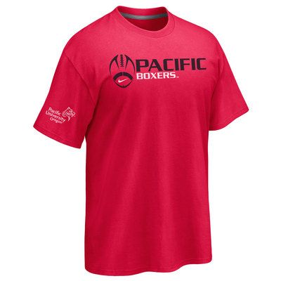 NCAA Pacific Boxers T-Shirt V2