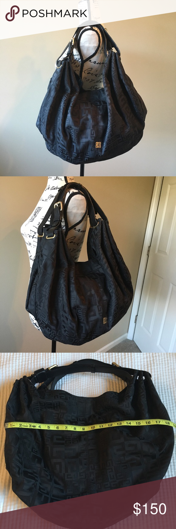 e416729be8 Givenchy large Hobo Bag This beautiful oversized canvas ...