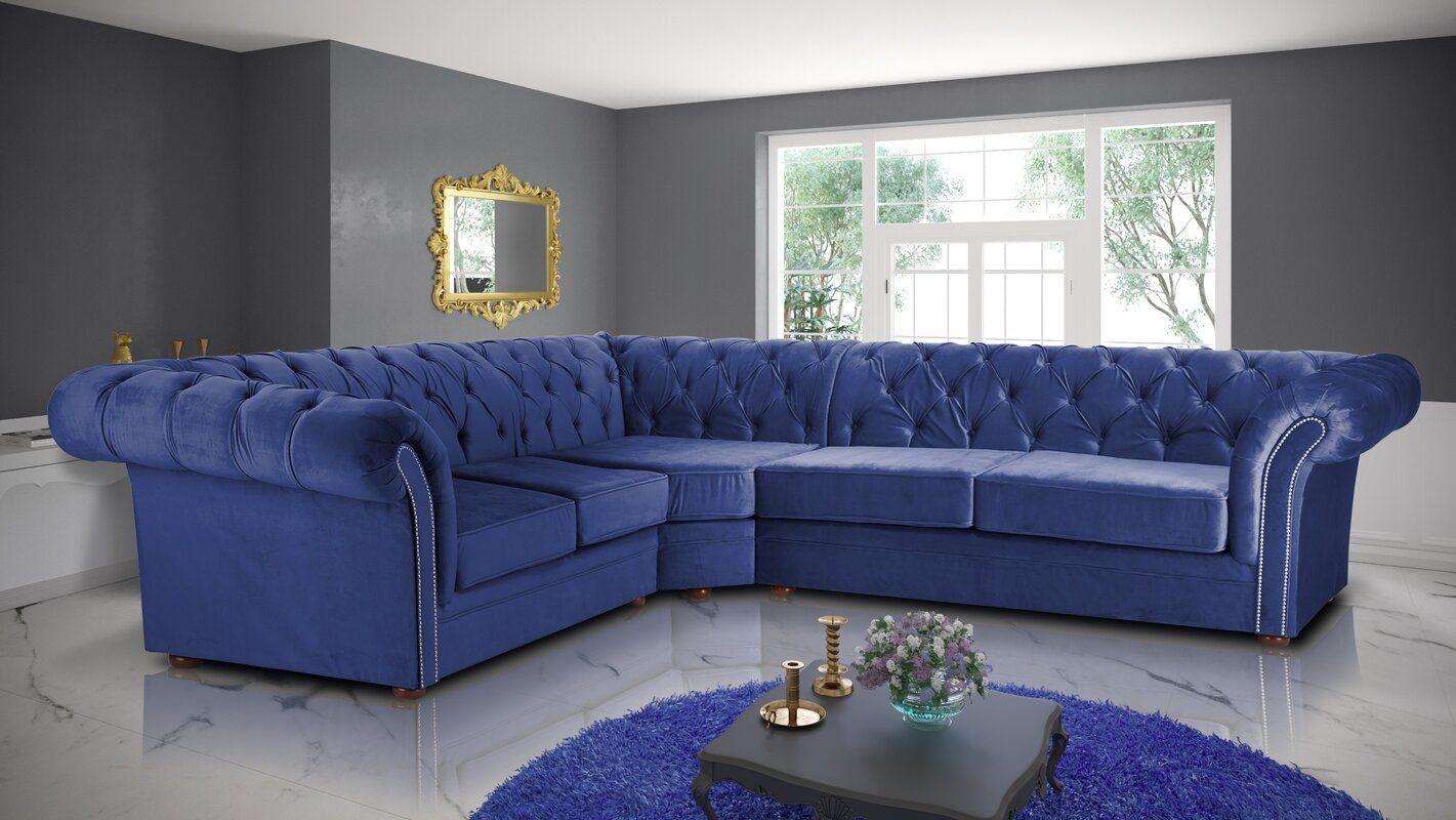 Everly Quinn Quintin Modular Corner Sofa Wayfair.co.uk