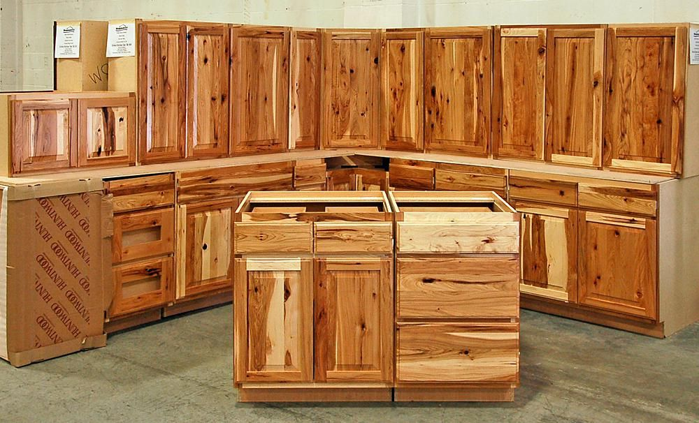 Ultimate Hickory Kitchen Cabinets - http://www.tehamaso ...
