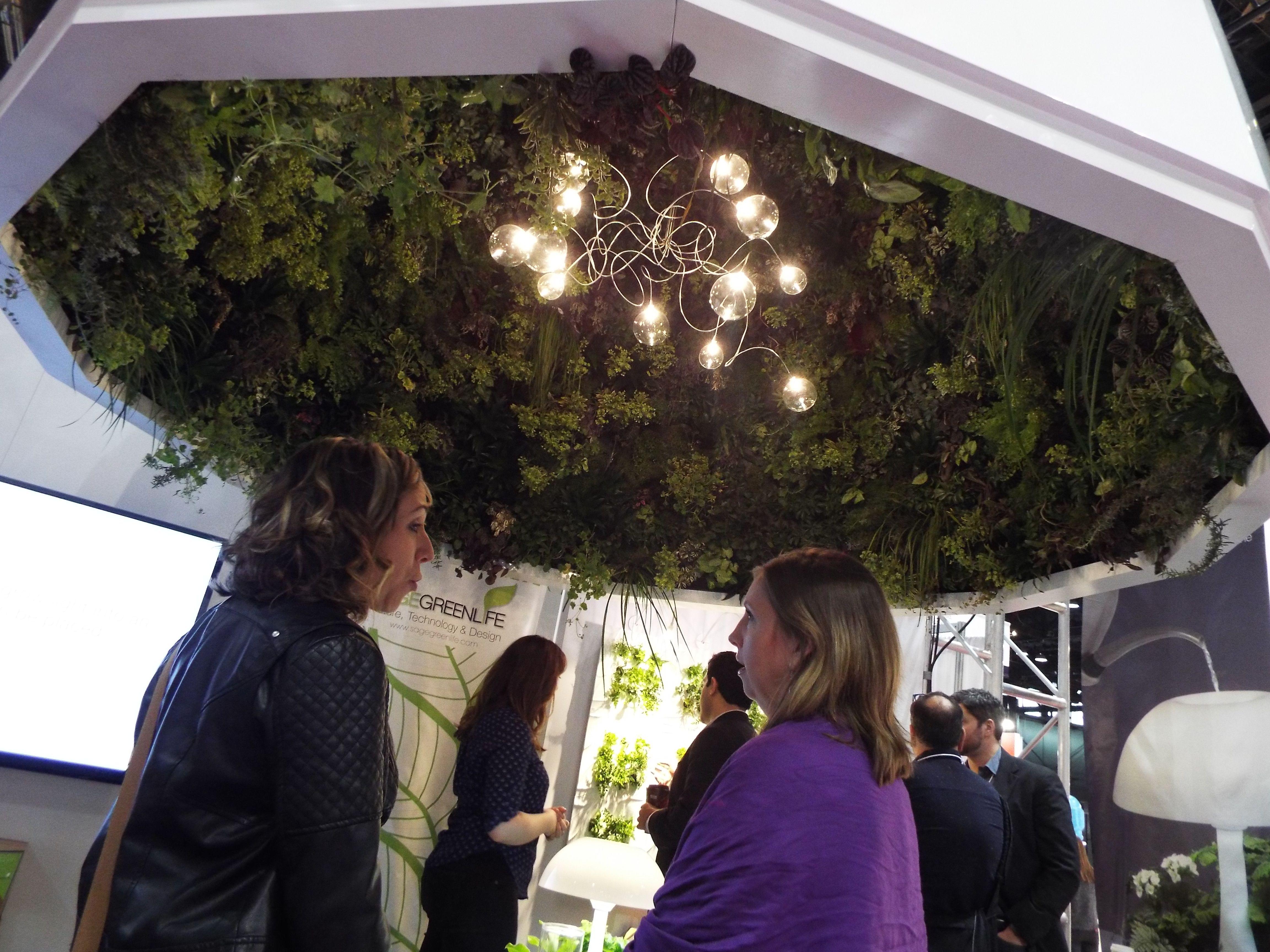 Sage Booth With Sage Vertical Gardens LLC