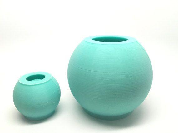 2 esfera plantador silicona geométricas molde molde