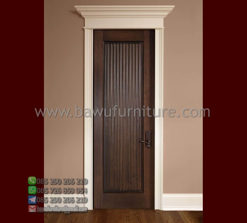 The Latest Model of Wooden Room Doors From Teak by Jepara
