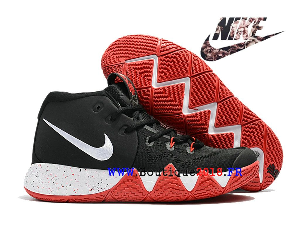 Basket Nike Kyrie 4 Rouge Jaune Chausport NIke Release 2018 Pour HOmme |  Nike Kyrie 4 | Pinterest