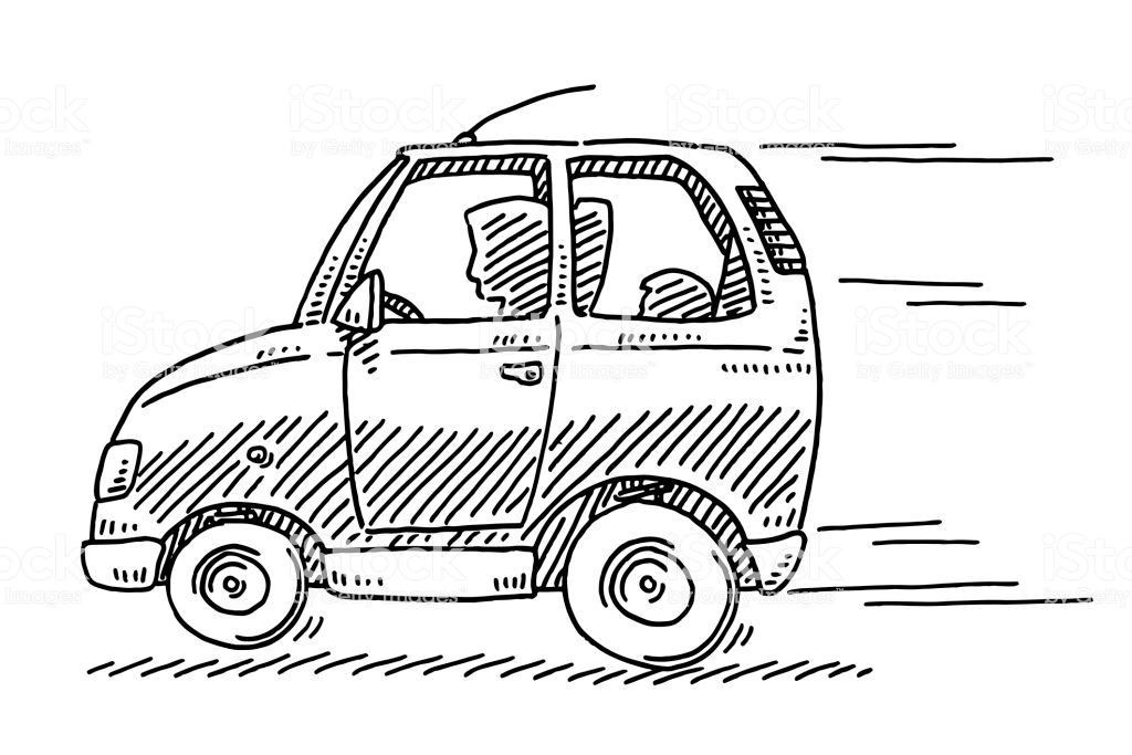 Very Easy Car To Draw For Little Kids With Images Car Drawing