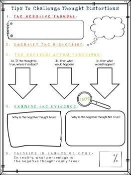 Pin by e on Clara's house   Cbt worksheets, Adolescent ...