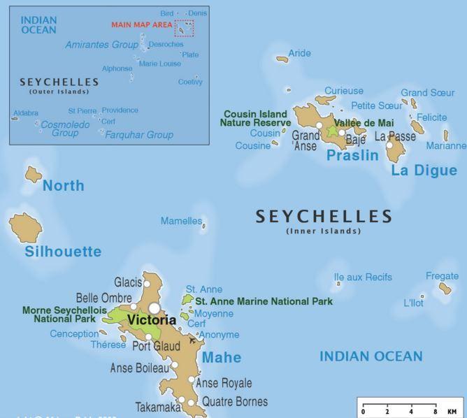 Seychelles Islas Seychelles Seychelles Oceano Indico