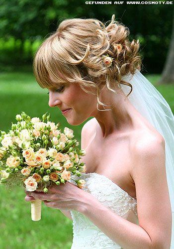 Zum Bob Gesteckte Locken Frisur Frisur Hochzeit Braut Und Haare
