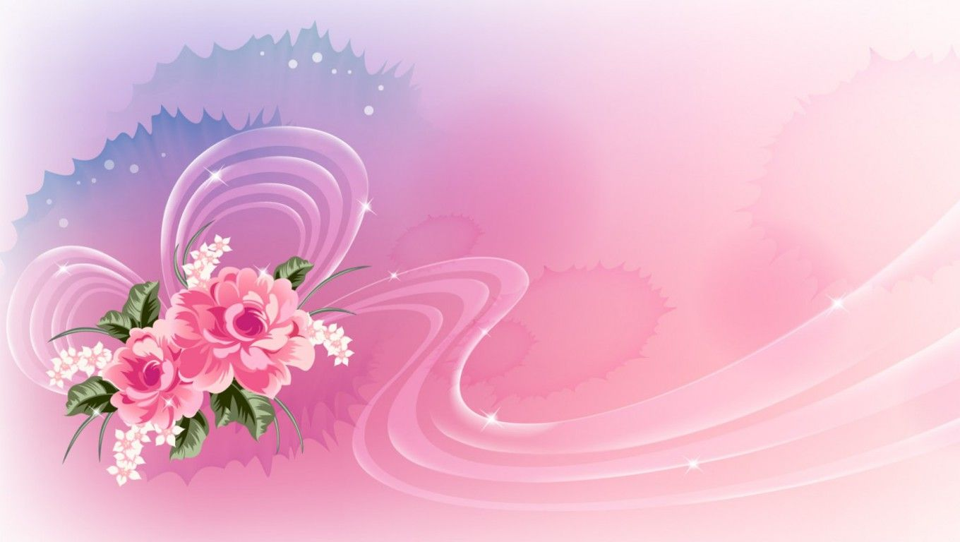 Pink Flower Background Pink Flowers Wallpaper Download The Free