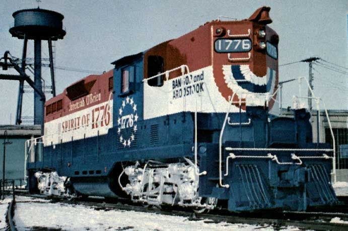 1976 American Bicentennial Museum Freedom Train Vintage Train Train Pictures Blue Train