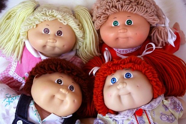 Image result for cabbage patch doll