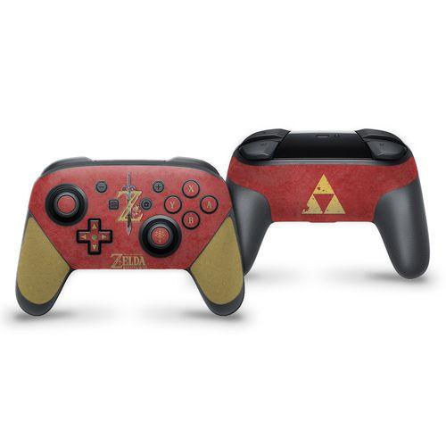 The Legend Of Zelda Botw Red Switch Pro Controller Skin Legend Of Zelda Switch Control