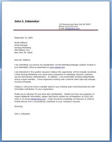 resume cover letter example miton Pinterest Resume cover - Resume Letterhead Examples