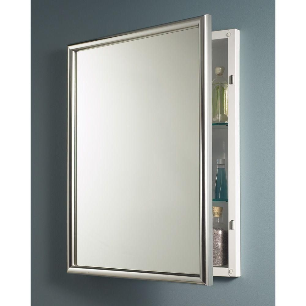 Harmony 24 In W X 30 In H X 5 7 8 In D Framed Recessed Bathroom