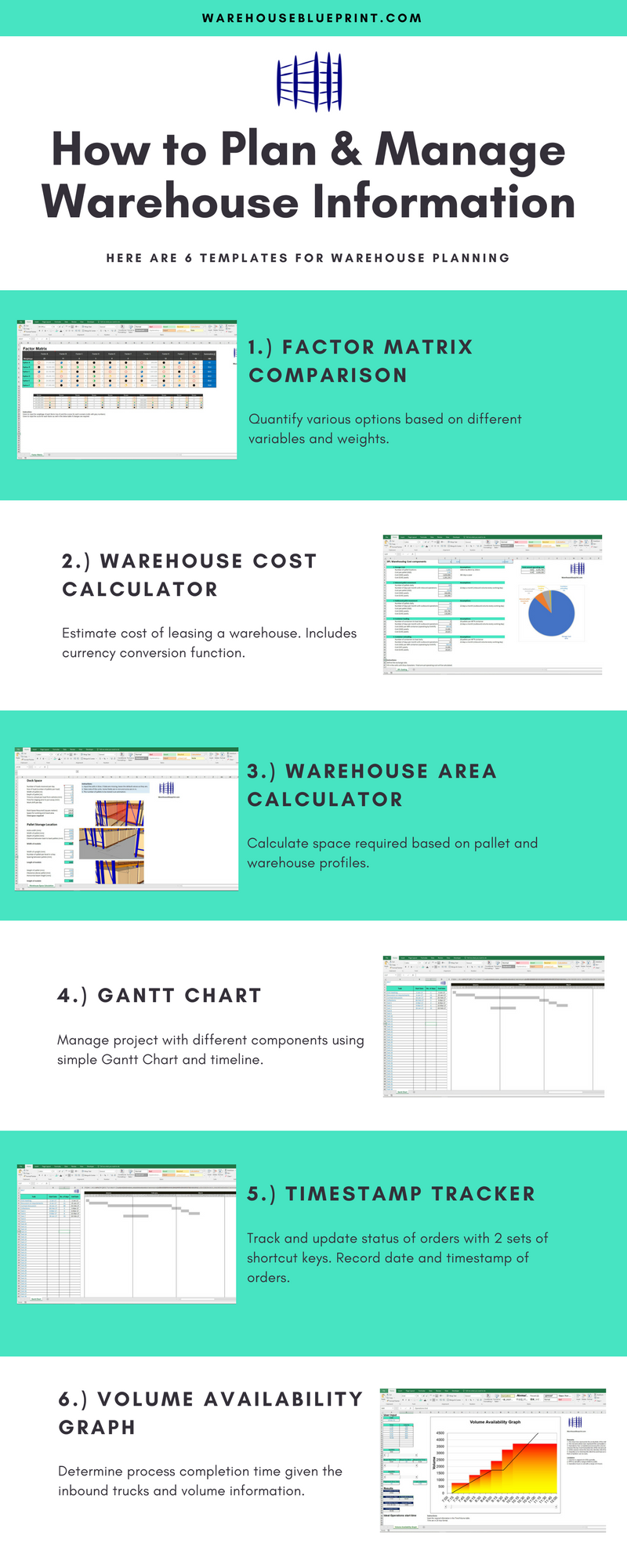 6 Free Excel Template For Warehouse Planning Sketchup Warehouse