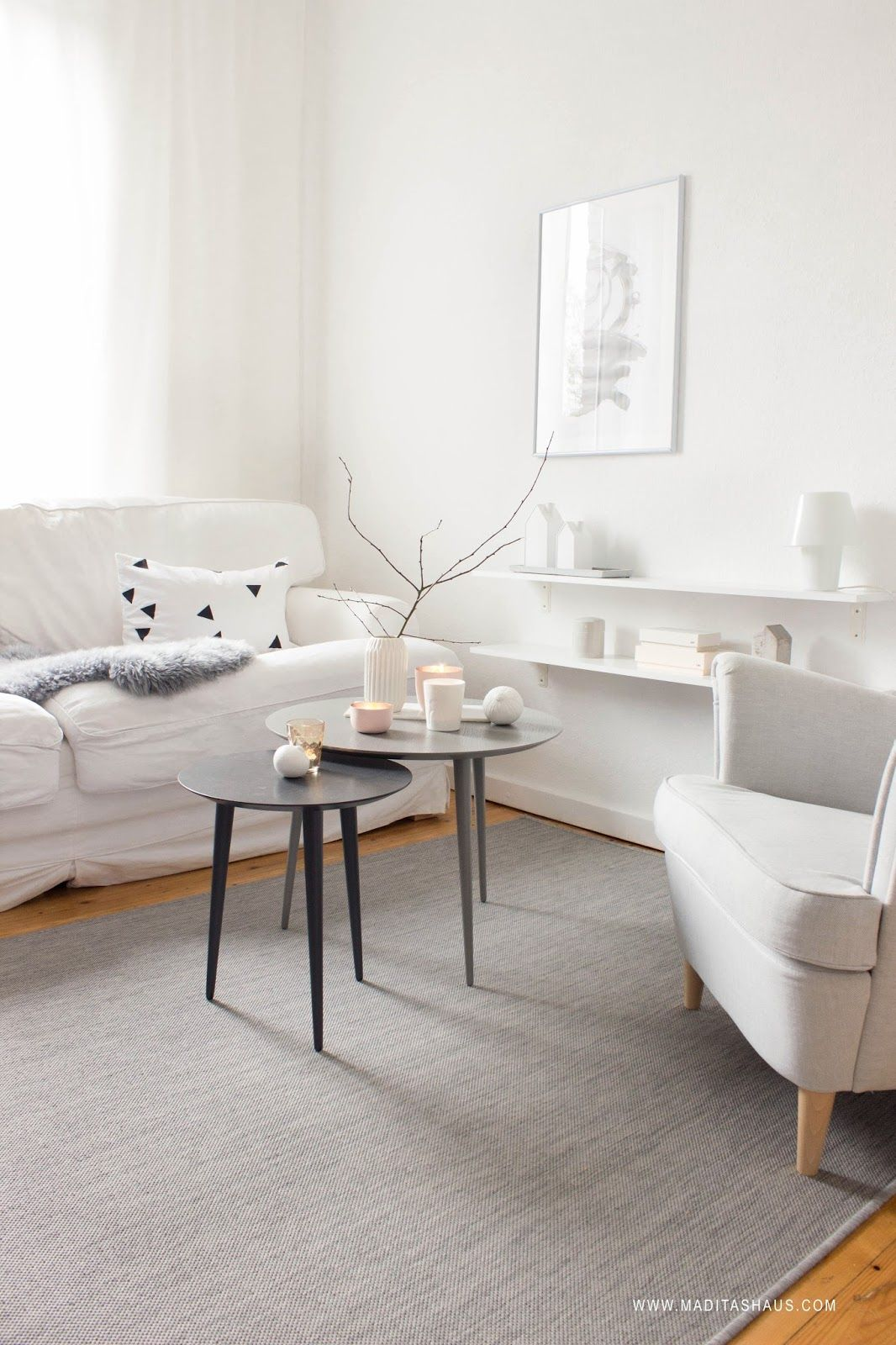 3 herbstliche Dekoideen für den Tisch | Living room inspiration ...