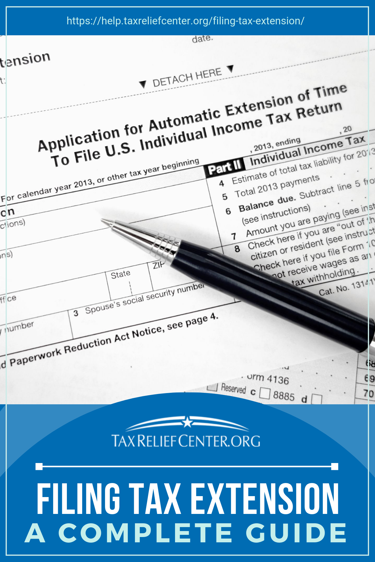 How To File A Tax Extension A Complete Guide Infographic Tax
